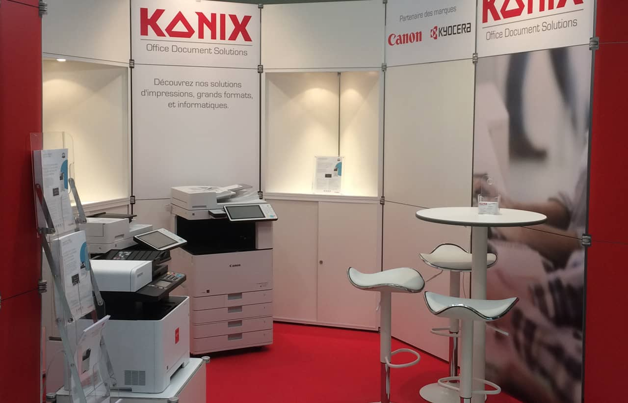 stand promotion imprimante